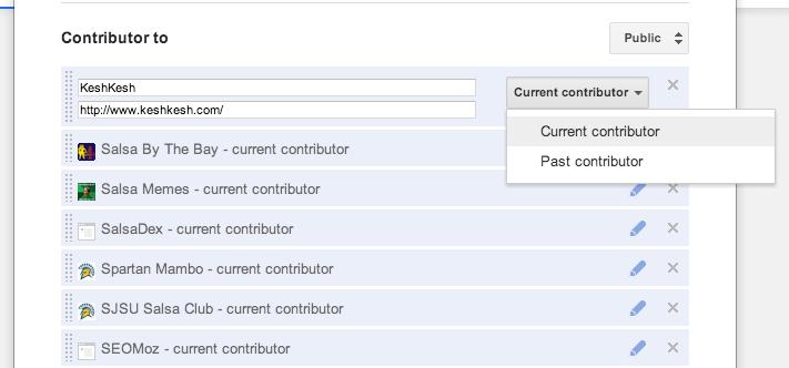 GooglePlus Current Contributor