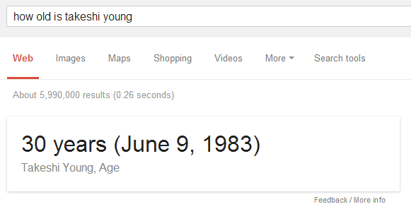 Knowledge Graph Age